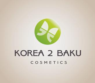 Logo design of Korea to Baku cosmetics